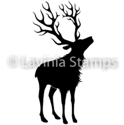Lavinia Stamps leimasin Reindeer (Small)