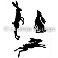 Lavinia Stamps leimasinsetti Whimsical Hares