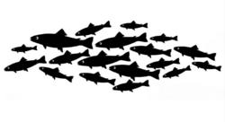 Lavinia Stamps leimasin Shoal Of Fish