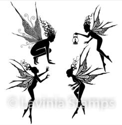 Lavinia Stamps leimasinsetti Fairy Foragers