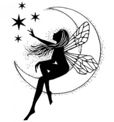 Lavinia Stamps leimasin Moon Fairy