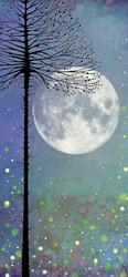 Lavinia Stamps SceneScapes taustapaperi Night-time Magic