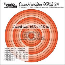 Crea-Nest-Lies XXL stanssisetti 84, 0.5 cm