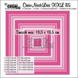 Crea-Nest-Lies XXL stanssisetti 85, 0.5 cm
