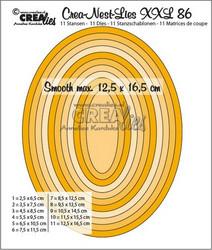 Crea-Nest-Lies XXL stanssisetti 86, 0.5 cm