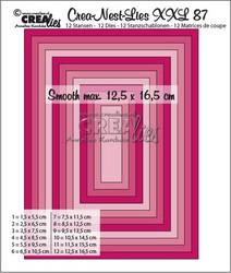 Crea-Nest-Lies XXL stanssisetti 87, 0.5 cm