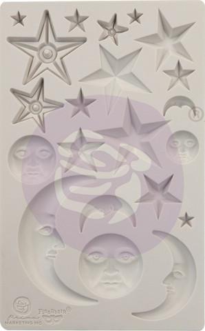 Prima Finnabair Decor Mould -muotti Stars and Moons
