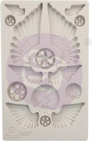 Prima Finnabair Decor Mould -muotti Cogs and Wings