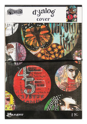 Dylusions Dyalog Canvas Printed Cover Vision, kannet