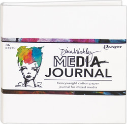 Dina Wakley Media White Journal 6