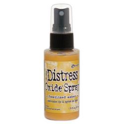 Distress Oxide -suihke, sävy fossilized amber
