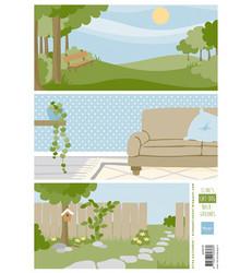 Marianne Design Cat & Dog Backgrounds -korttikuvat
