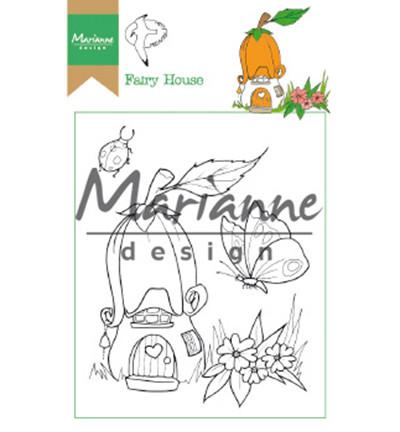 Marianne Design leimasinsetti Hetty's Fairy House
