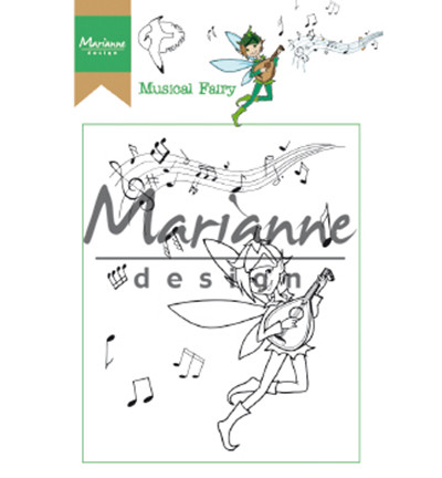 Marianne Design leimasinsetti Hetty's Musical Fairy