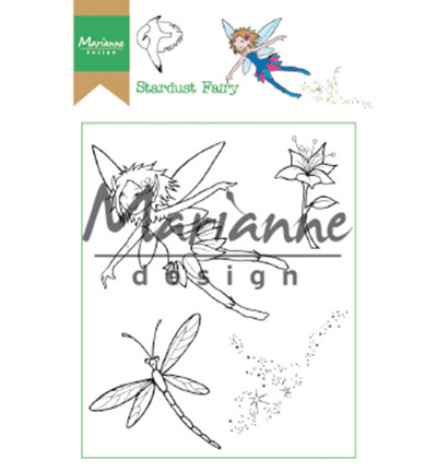 Marianne Design leimasinsetti Hetty's Stardust Fairy