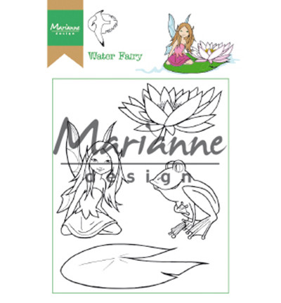 Marianne Design leimasinsetti Hetty's Water Fairy