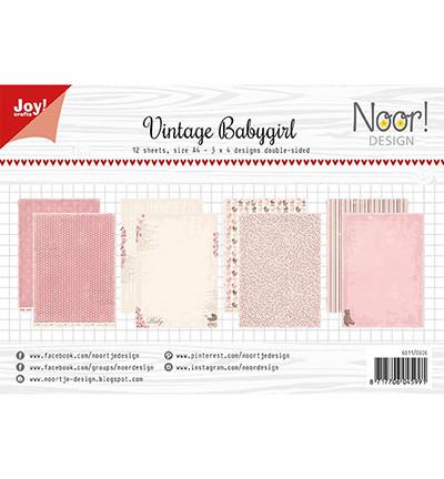 Joy! crafts NoorDesign paperipakkaus Vintage Babygirl