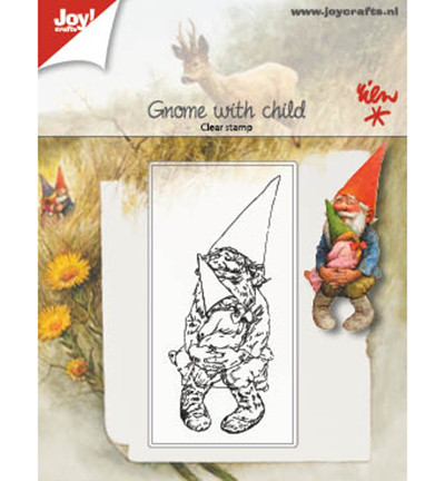 Joy! crafts Gnome with Child -leimasin