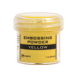 Ranger Embossing Powder -kohojauhe, sävy Yellow