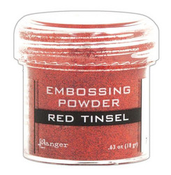 Ranger Embossing Powder -kohojauhe, sävy Red Tinsel