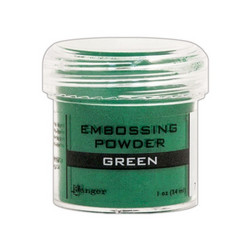 Ranger Embossing Powder -kohojauhe, sävy Green