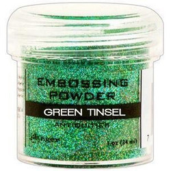 Ranger Embossing Powder -kohojauhe, sävy Green Tinsel