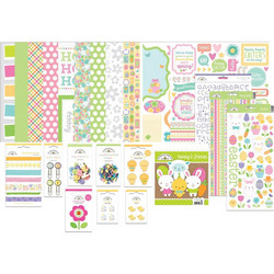 Doodlebug  Value Bundle -pakkaus Hoppy Easter, 12
