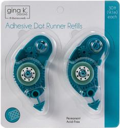 Gina K. Designs Adhesive Dot -teippirollerin täyttöpakkaus
