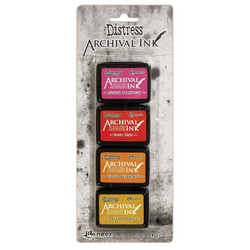 Tim Holtz Distress Archival Mini Ink -mustesetti 1