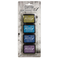 Tim Holtz Distress Archival Mini Ink -mustesetti 2