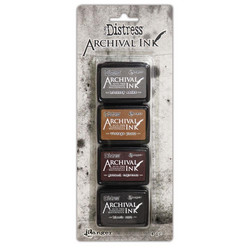 Tim Holtz Distress Archival Mini Ink -mustesetti 3