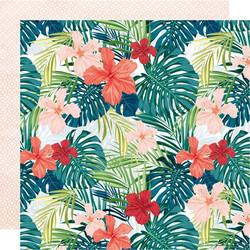 Kaisercraft Paradise Found skräppipaperi Tropic Vibes