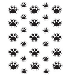C.C.Designs leimasin Paw Print Background