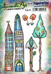 PaperArtsy Elenazinski Art leimasinsetti 39