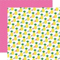 Echo Park I Love Summer skräppipaperi Pineapple Paradise