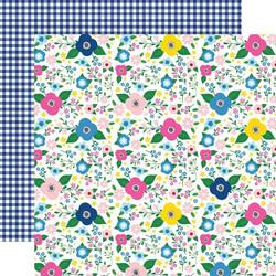 Echo Park I Love Summer skräppipaperi Summer Floral