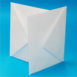 Valkoinen kirjekuori, 30 kpl, C5