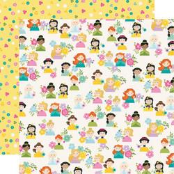 Simple Stories Little Princess skräppipaperi Hello Princess