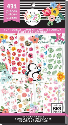 Mambi Happy Planner Value -tarrapakkaus Fun Florals