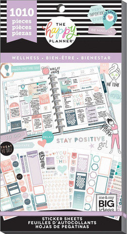 Mambi Happy Planner Value -tarrapakkaus Wellness