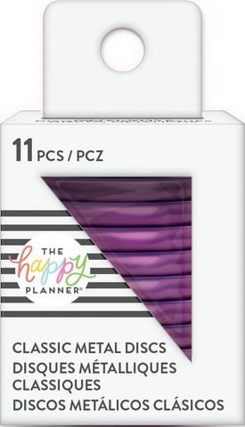 Mambi Happy Planner metallirenkaat, medium, sävy Violet