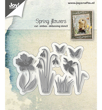 Joy! Crafts stanssisetti Spring Flowers