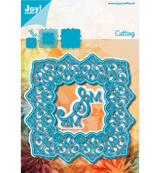 Joy! Crafts stanssisetti Square Blue