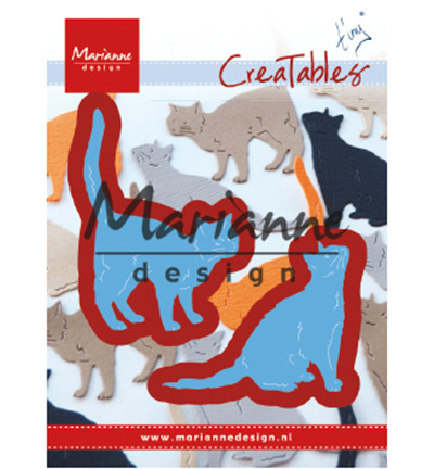 Marianne Design stanssisetti Tiny's Cats
