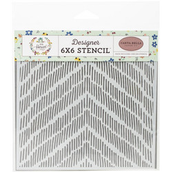 Carta Bella sapluuna Distressed Chevron
