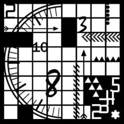 Creative Expressions maski Clock Elements