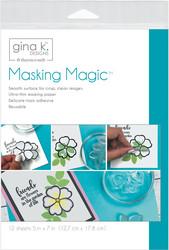 Gina K Desingn Masking Magic -maskipaperi, 7