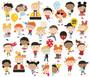 Simple Stories Say Cheese Happy Kids Bits & Pieces Die-Cuts, leikekuvat, 28 kpl