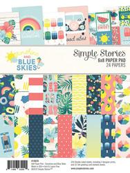Simple Stories Sunshine and Blue Skies -paperipakkaus