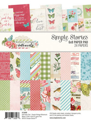 Simple Stories Botanicals -paperipakkaus